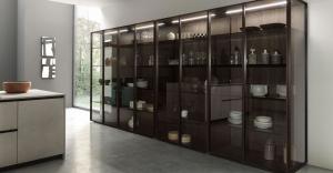 Glass Cabinet Doors (Cabinets Refacing)