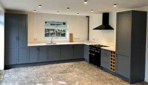 The L-Shaped Kitchen design