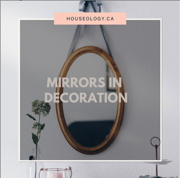 Mirrors in decoration - blog